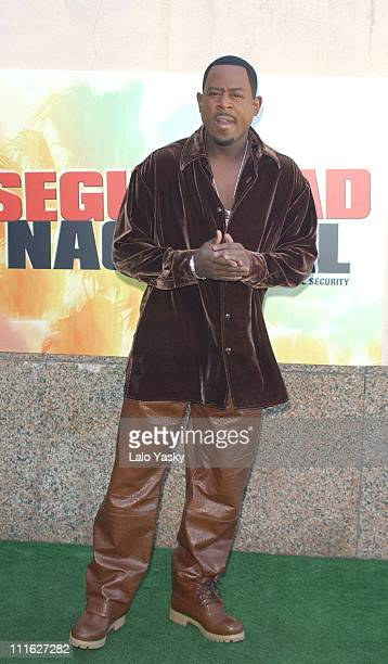 Martin Lawrence during Martin Lawrence at a Photocall for the Film National Security Madrid at Villa Magna Hotel in Madrid Spain