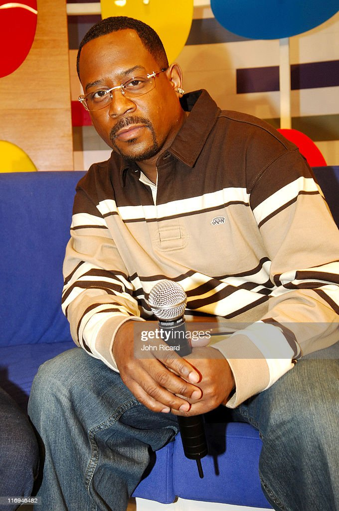 """Sean """"Diddy"""" Combs and Martin Lawrence Visit BET's """"106 & Park"""" - January 19,"""