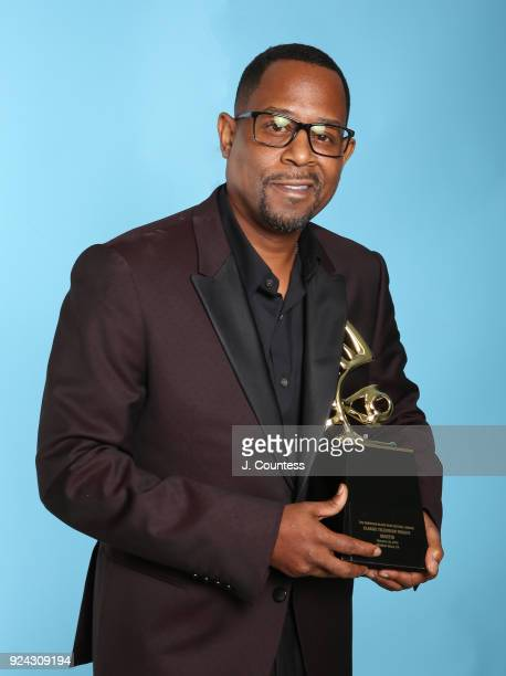 Martin Lawrence poses backstage during the 2018 American Black Film Festival Honors Awards at The Beverly Hilton Hotel on February 25 2018 in Beverly...