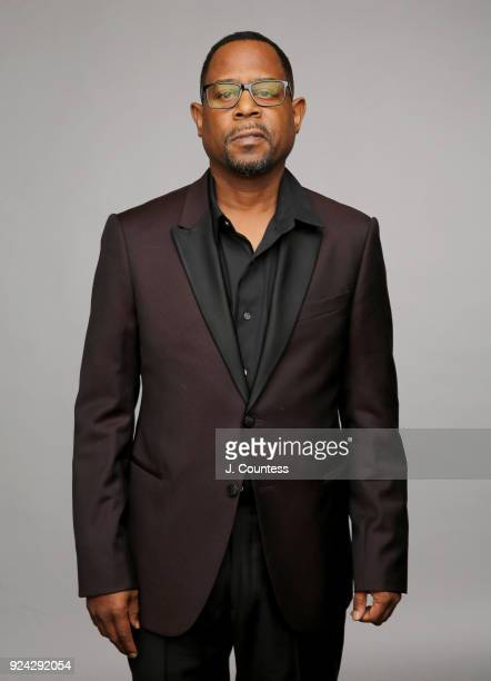 Martin Lawrence poses for a portrait during the 2018 American Black Film Festival Honors Awards at The Beverly Hilton Hotel on February 25 2018 in...