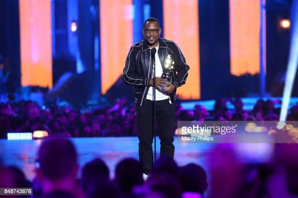 Martin Lawrence speaks onstage during VH1 Hip Hop Honors The 90s Game Changers at Paramount Studios on September 17 2017 in Los Angeles California