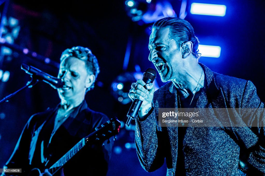 Depeche Mode Perfom In Milan : News Photo