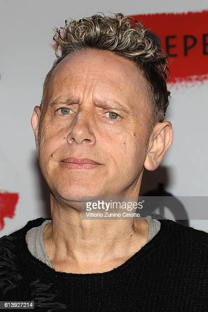 Martin Lee Gore of Depeche Mode attends a photocall to launch the Global Spirit Tour on October 11 2016 in Milan Italy