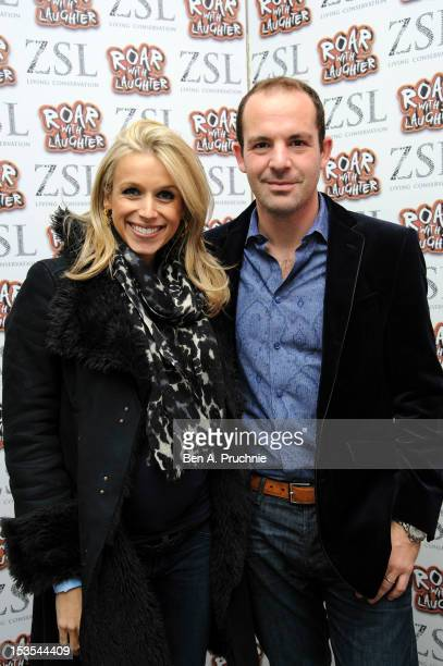 Martin Lewis and Lara Lewington attends the ZSL Roar With Laughter event at Hammersmith Apollo on October 6, 2012 in London, England.