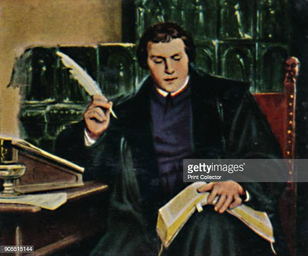 'Martin Luther 14831546' 1934 Martin Luther German theologian Augustinian monk and ecclesiastical reformer Luther was a major inspiration behind the...
