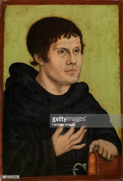 Martin Luther as an Augustinian Monk Second half of the16th cen Found in the Collection of Germanisches Nationalmuseum Nuremberg