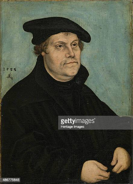 Martin Luther at the Age of 50 1533 Artist Cranach Lucas the Elder