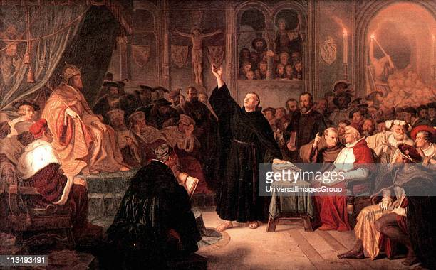 Martin Luther at the Diet of Worms 1521