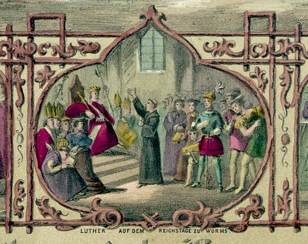 UNS: 23rd January 1521 - The Diet Of Worms Held To Decide Martin Luther's Fate