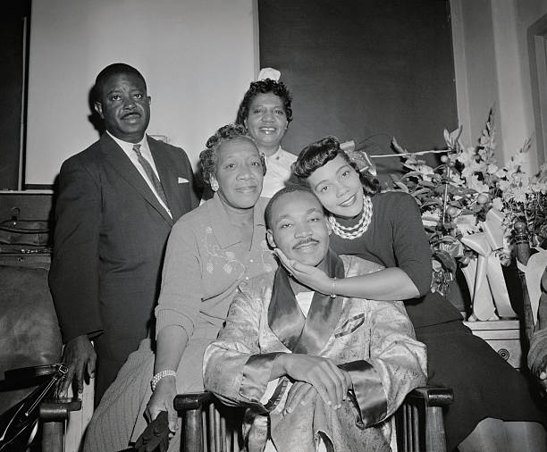 Martin Luther King and His Wife