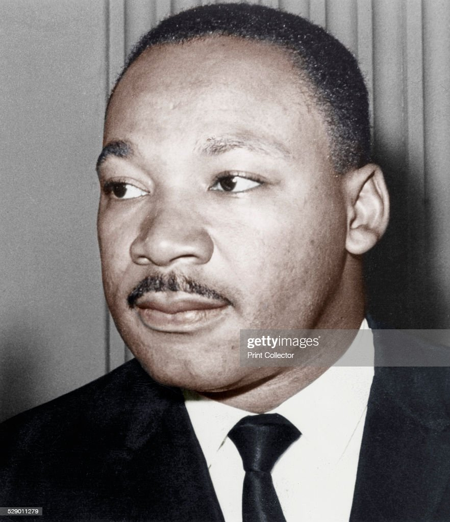 Martin Luther King Jnr, American black civil rights campaigner, c1968. : News Photo