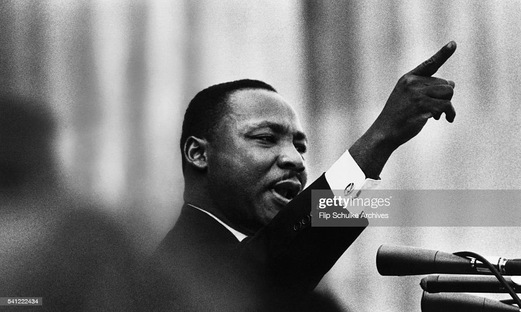 Martin Luther King Jr Delivers His I Have A Dream Speech From The