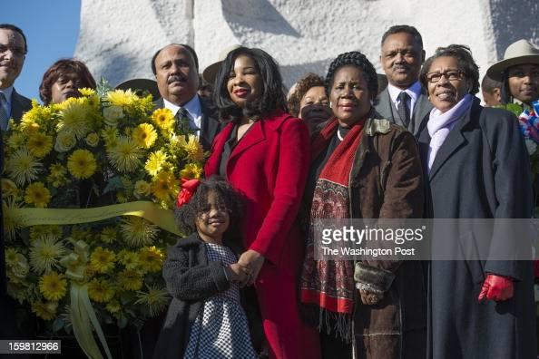 Martin Luther King Jr. III, daughter Yolanda Renee King ...