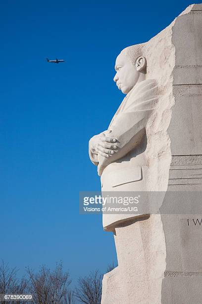 Martin Luther King Jr National Memorial With Jet