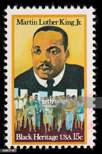 USA Martin Luther King Jr postage stamp