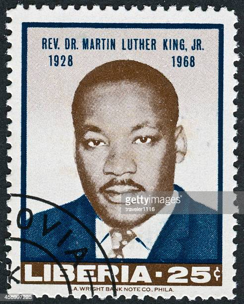 martin luther king jr. stamp - martin luther king stock pictures, royalty-free photos & images