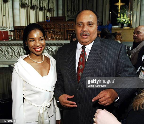 Martin Luther King Jr the 3rd and fiance Andrea Water