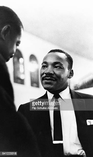Martin Luther King Jr visits a Baptist church in Miami to raise funds and members in the SCLC He founded the SCLC to advance the civil rights...