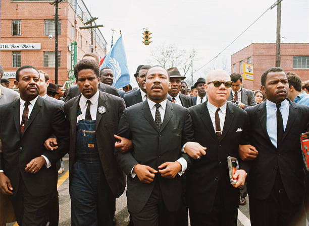 UNS: 25th March 1965 - Selma To Montgomery March Arrives In State Capitol