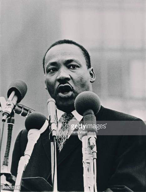 Martin Luther King Speaking on September 10 1963 in New York New York