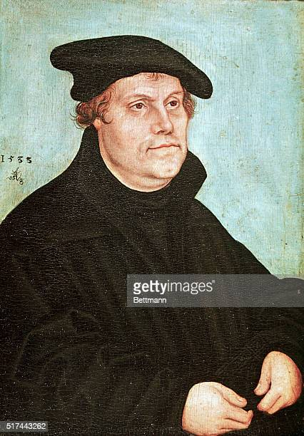 Martin Luther Painting by Lucas Cranach The Elder Undated color dupe BPA