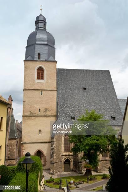 Martin Luthers baptistry dans Eisleben