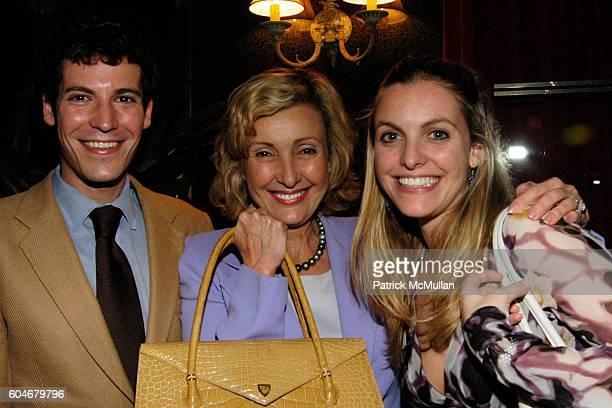 Martin Marks Lana Marks and Tiffany Marks attend Ferro's Restaurant Opening at Ferro's Restaurant on September 13 2006 in New York City