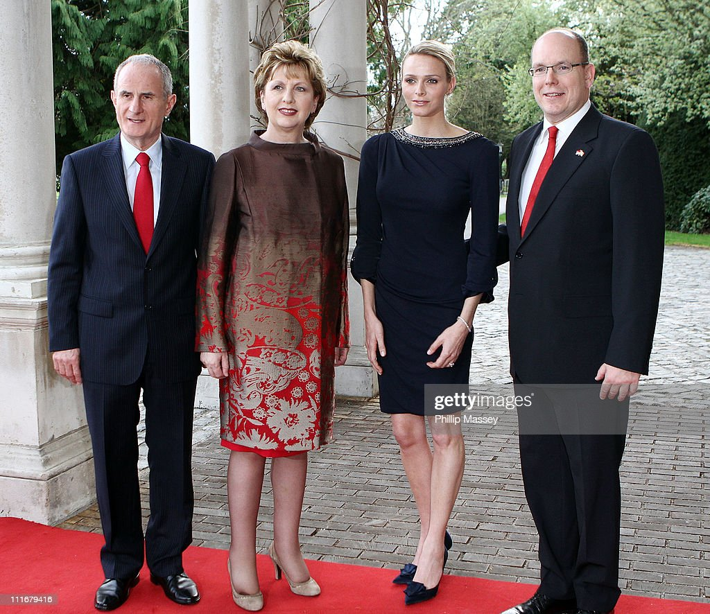 Prince Albert II of Monaco and Charlene Wittstock State Visit to Ireland - Day 2