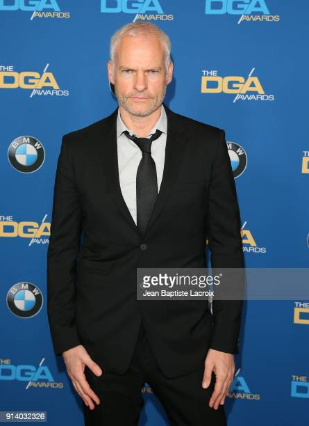 Martin McDonagh attends the 70th Annual Directors Guild Of America Awards at The Beverly Hilton Hotel on February 3 2018 in Beverly Hills California