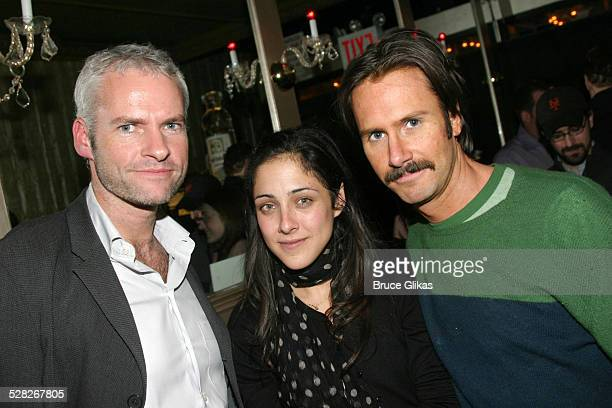 Martin McDonagh Lily Thorne and Josh Hamilton during Opening Night Party for LAByrinth Theater Company's The Last Days of Judas Iscariot at Marion's...