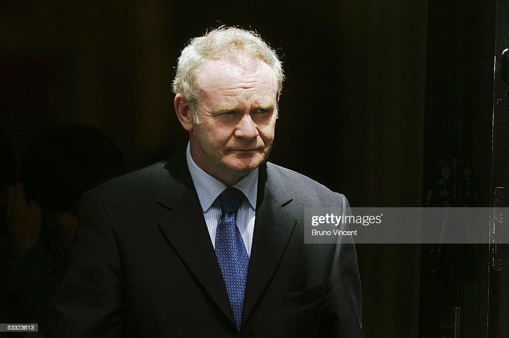 Tony Blair Holds Northern Ireland Meetings