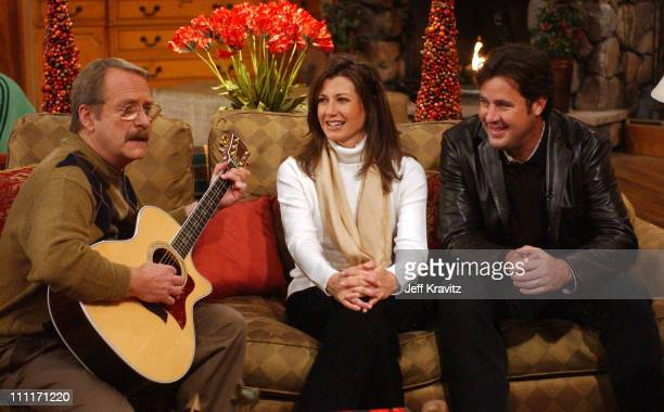 Martin Mull Amy Grant and Vince Gill during Nick at Nite Celebrates the Holiday Season with 'The Nick at Nite Holiday Special' Airing on Friday Nov...