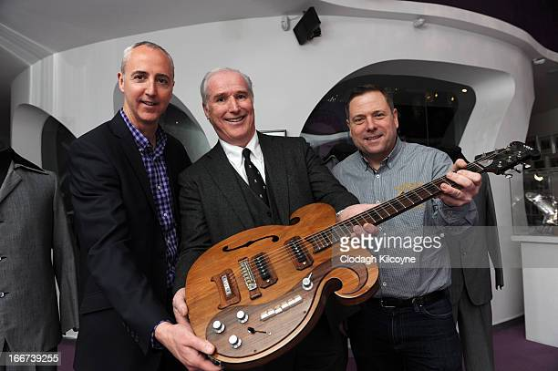 Martin Nolan Executive Director of Julien's Auctions William Doyle CEO of Newbridge Silverware and Darren Julien Founder and CEO of Julien's Auctions...