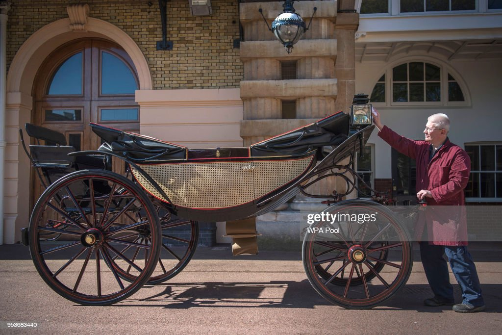 Royal Mews At Buckingham Palace : News Photo