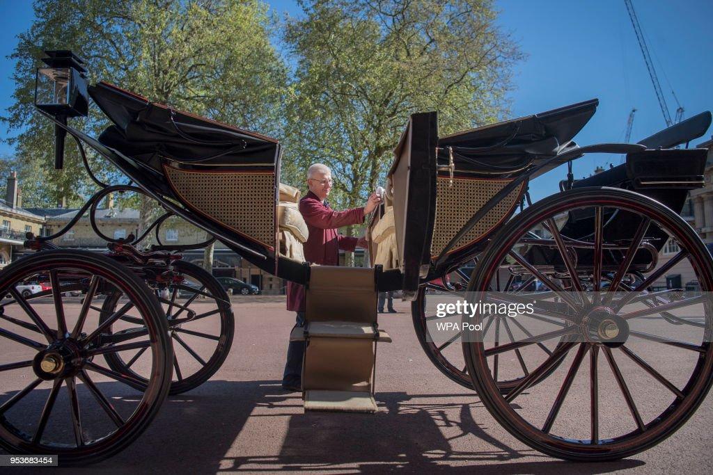 Royal Mews At Buckingham Palace : Nachrichtenfoto