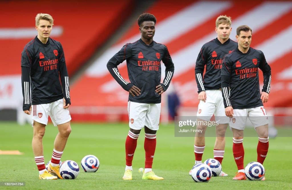 Arsenal v Tottenham Hotspur - Premier League : Nachrichtenfoto