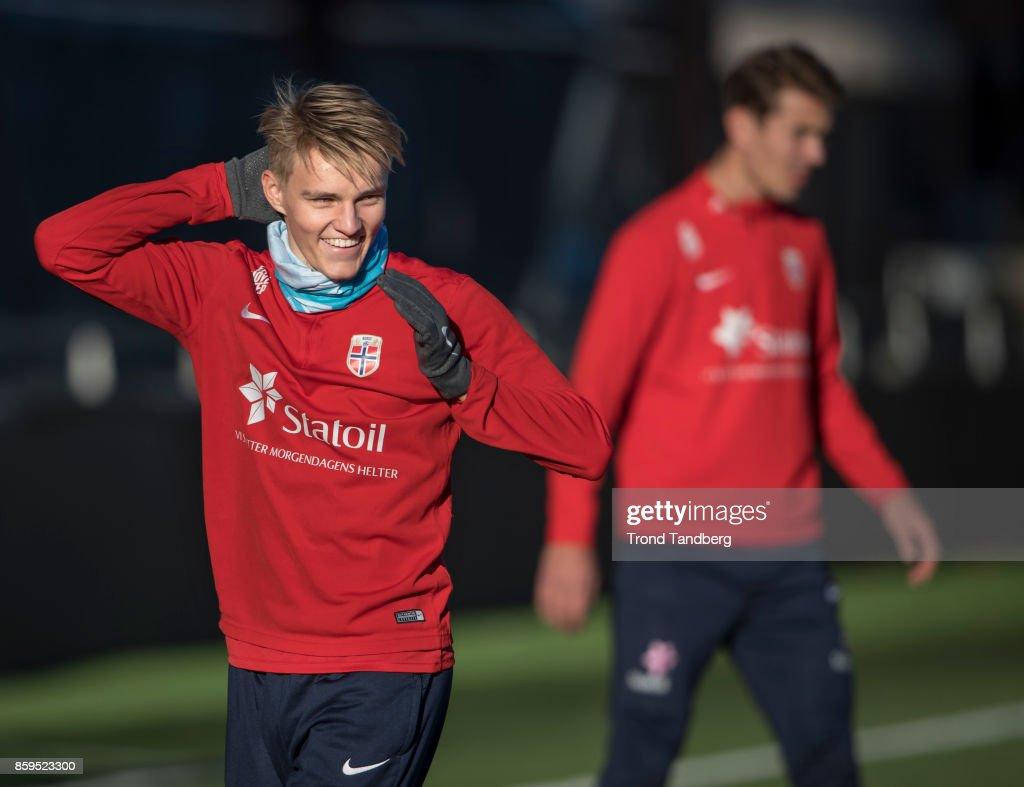 Norway U21 Training Session