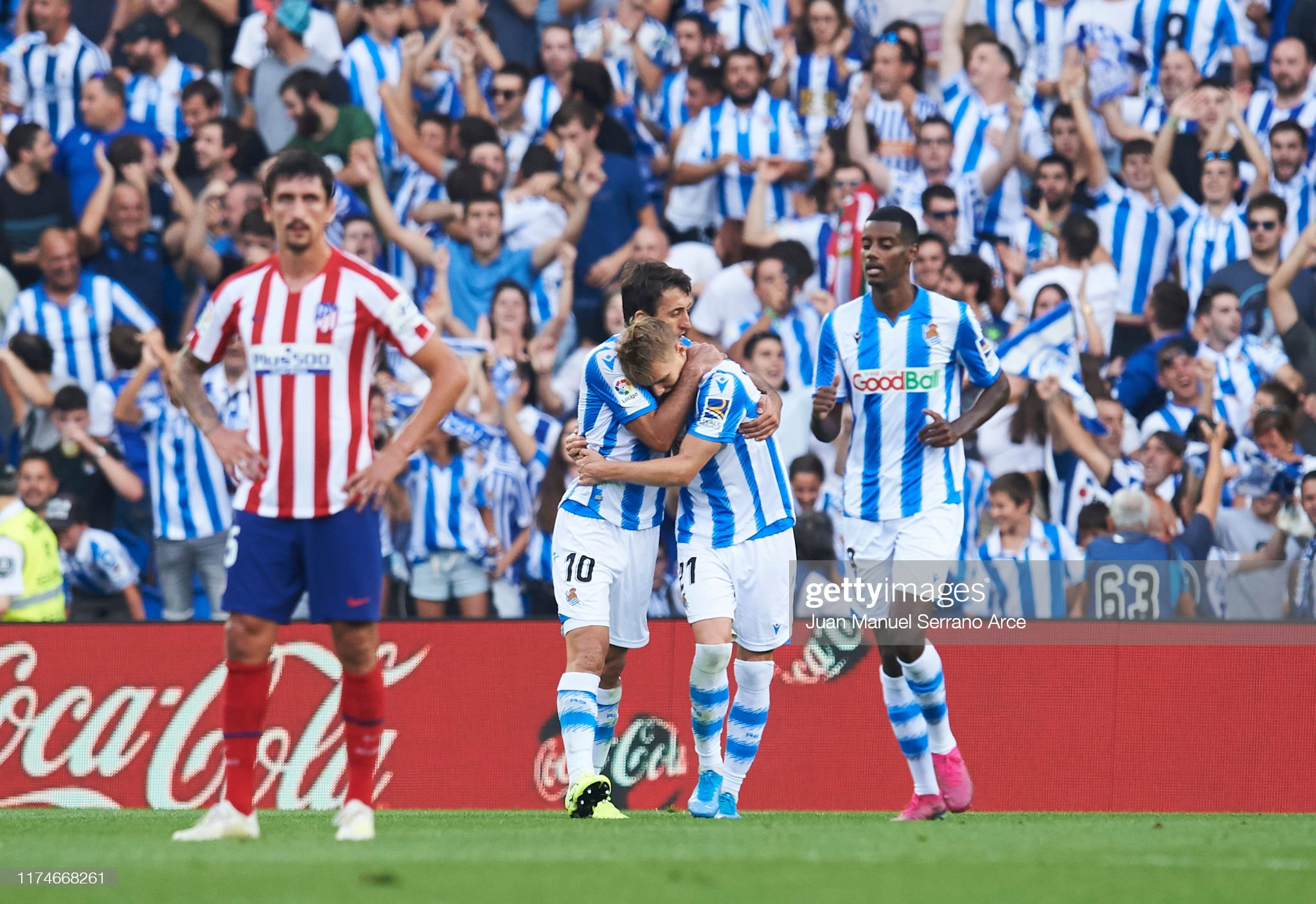 Real Sociedad v Club Atletico de Madrid  - La Liga : News Photo