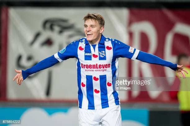 Martin Odegaard of sc Heerenveen 03 during the Dutch Eredivisie match between FC Twente Enschede and sc Heerenveen at the Grolsch Veste on November...
