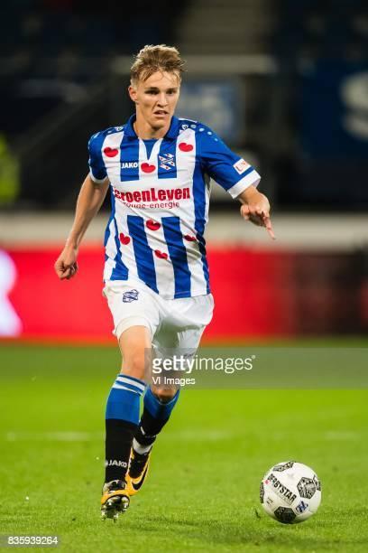 Martin Odegaard of sc Heerenveen during the Dutch Eredivisie match between sc Heerenveen and Heracles Almelo at Abe Lenstra Stadium on August 19 2017...