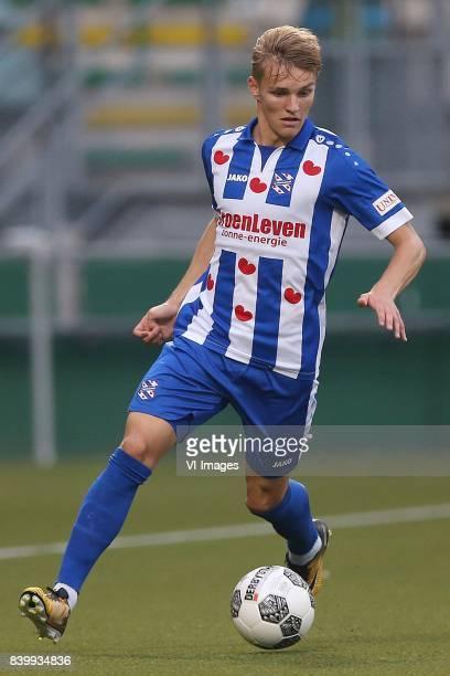 Martin Odegaard of sc Heerenveen during the Dutch Eredivisie match between ADO Den Haag and sc Heerenveen at Kyocera stadium on August 26 2017 in The...