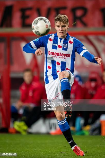Martin Odegaard of sc Heerenveen during the Dutch Eredivisie match between FC Twente Enschede and sc Heerenveen at the Grolsch Veste on November 18...