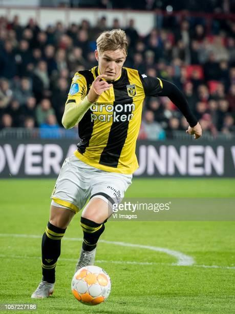 Martin Odegaard of Vitesse during the Dutch Eredivisie match between PSV Eindhoven and Vitesse Arnhem at the Phillips stadium on November 03 2018 in...