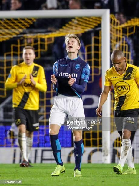 Martin Odegaard of Vitesse during the Dutch Eredivisie match between NAC Breda v Vitesse at the Rat Verlegh Stadium on December 9 2018 in Breda...