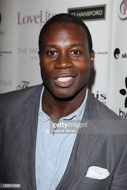 Martin Offiah arrives at The Inspiration Awards For Women 2012 at Cadogan Hall on October 3 2012 in London England