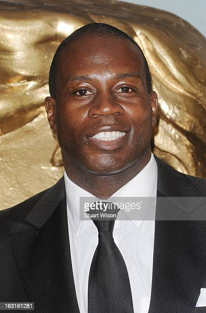 Martin Offiah attends The British Academy Games Awards at London Hilton on March 5 2013 in London England