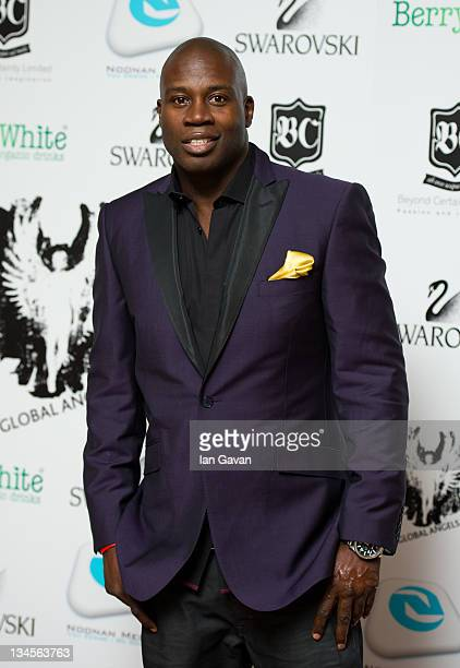 Martin Offiah attends The Global Angel Awards at Park Plaza Westminster Bridge Hotel on December 2 2011 in London England