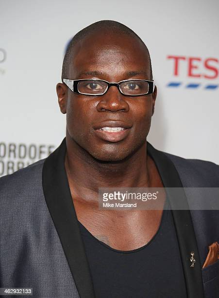 Martin Offiah attends the Nordoff Robbins Rugby dinner at The Grosvenor House Hotel on January 15 2014 in London England
