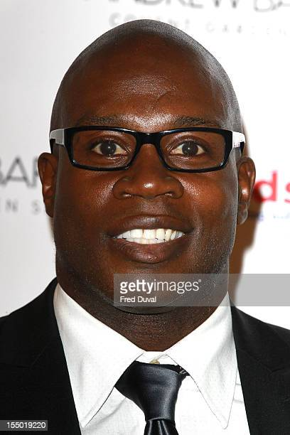 Martin Offiah attends the spectacle wearer of the year 2012 at Battersea Power station on October 30 2012 in London England
