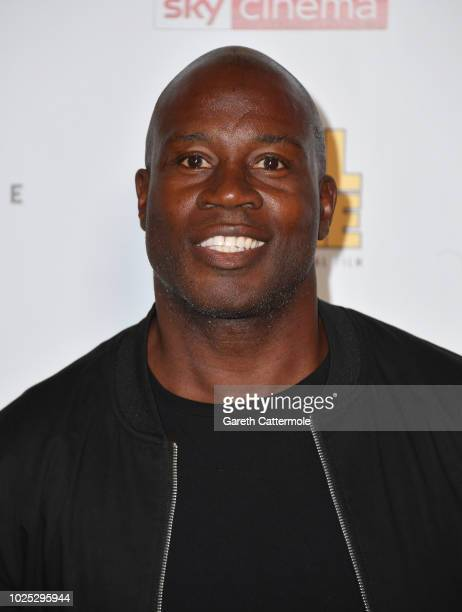 Martin Offiah attends the World Premiere of Final Score at the Ham Yard Hotel on August 30 2018 in London England